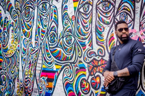 Elijah Shaw @Berlin Wall